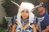 Overwatch, BlizzCon, Blizzard Entertainment, World of Warcraft, Косплей