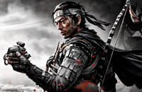 Ghost of Tsushima, League of Legends, PlayStation 4