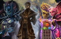 Lycan, Phantom Assassin, Dark Willow, Dota Underlords, Artifact