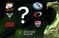 WarriorsGaming.Unity, Virtus.pro, MVP Phoenix, PSG.LGD, CompLexity, The Boston Major