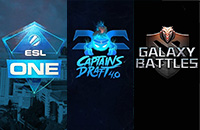 Captain's Draft, Galaxy Battles, ESL One Genting