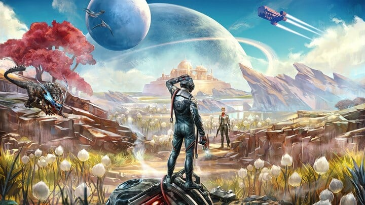Ведьмак 3: Дикая Охота, Xbox One, The Outer Worlds, Obsidian Entertainment, Nintendo Switch, PlayStation 4, PC, Borderlands 3, Mass Effect, Fallout: New California, Ролевые игры, Epic Games Store, Microsoft, Bethesda Softworks