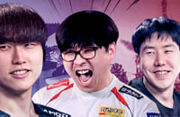 Fnatic, Ли «SunBhie» Чон Дже, MVP Phoenix, Ким «Dubu» Ду Янг, TNC, MVP.Hot6ix, Ли «Heen» Сонг Го, Пак «March» Тэ Вон, T1