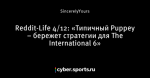 Reddit-Life 4/12: «Типичный Puppey – бережет стратегии для The International 6»