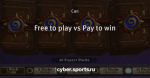 Free to play vs Pay to win