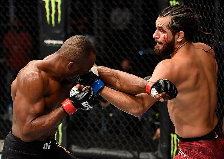 Реванш Масвидаля и Усмана, пятая защита титула Шевченко и рубка за пояс минимального веса. Онлайн UFC 261