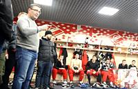 Амир Хуслютдинов, болельщики, Спартак, Артем Воронин, КХЛ