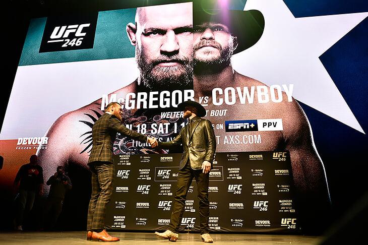Конор Макгрегор против Дональда Серроне: онлайн UFC 246