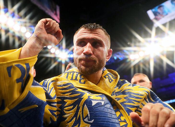 Василий Ломаченко переехал Масайоши Накатани. Онлайн возвращения украинского боксера
