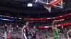 Jayson Tatum with one of the day's best dunks