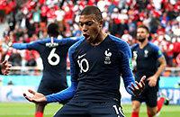 Сборная Франции по футболу, Сборная Перу по футболу, ЧМ-2018, Сборная Австралии по футболу, Сборная Дании по футболу