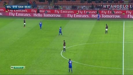 Италия. Серия А. «Милан» - «Сампдория»