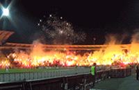 высшая лига Сербия, Црвена Звезда, болельщики