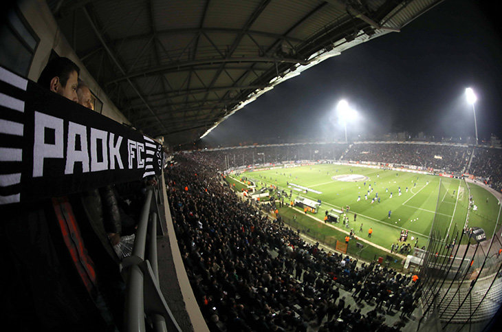 Неменее  40 фанатов «Спартака» задержали вгреческих Салониках