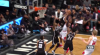 Rondae Hollis-Jefferson sends the shot away
