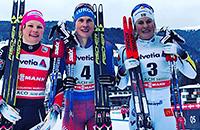 сборная России жен (лыжные гонки), лыжные гонки, Кубок мира, Наталья Матвеева