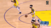 D'Angelo Russell 3-pointers in Golden State Warriors vs. Dallas Mavericks