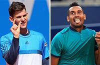 US Open, ATP, Доминик Тим, Ник Киргиос