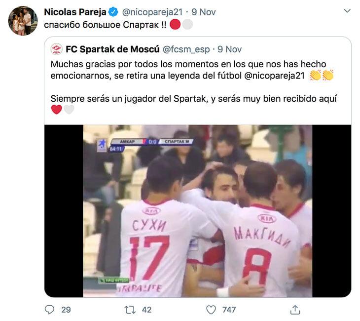 Нико Пареха – мастер подкатов в «Спартаке» Карпина. Он только что завершил карьеру, а мы вспоминаем его кунг-фу 👊