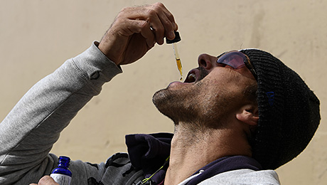 Зачем американским спортсменам марихуана?