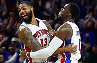 Детройт, НБА, видео, Маркус Моррис