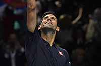 Новак Джокович, Энди Маррей, ATP, Кеи Нисикори, Barclays ATP World Tour Finals, Милош Раонич