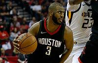 НБА плей-офф, Крис Пол, Юта, НБА, видео, Хьюстон
