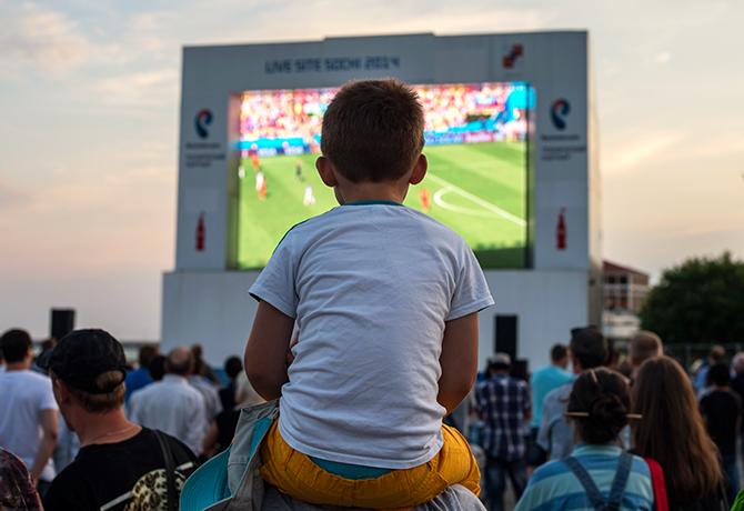 премьер-лига Россия, телевидение