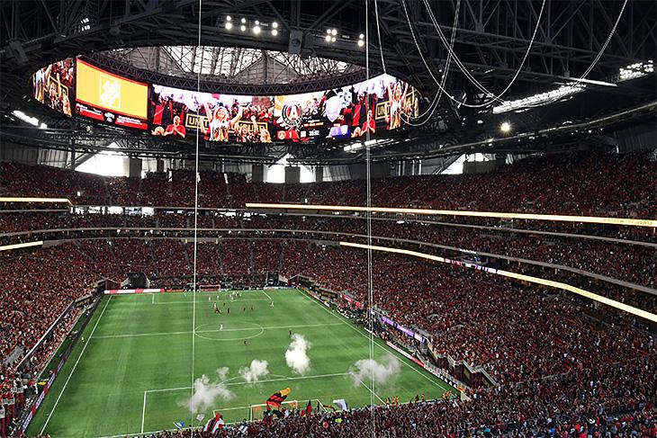 ВАтланте побили рекорд попосещаемости чемпионатов MLS