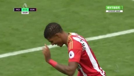 Англия. Премьер-лига. «Манчестер Сити» - «Сандерленд»
