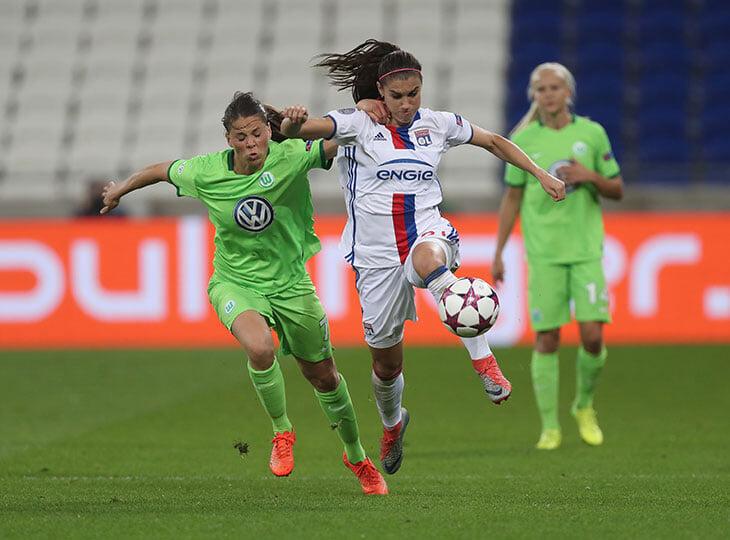 Суперзвезда женского футбола Алекс Морган