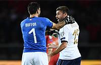 Эмануэле Джаккерини, квалификация ЧМ-2018, сборная Италии, Джампьеро Вентура