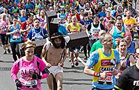 бег, фото, Лондонский марафон