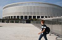 стадионы, стадион Краснодар, Сергей Галицкий, Краснодар, фото, Сборная России по футболу