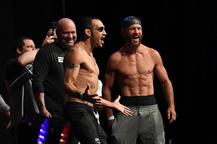 Сехудо – Мораес, Фергюсон против Серроне и Ян – Ривера. Онлайн UFC 238