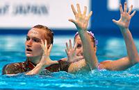 синхронное плавание, чемпионат мира, сборная России (синхронное плавание), Дарина Валитова, Александр Мальцев