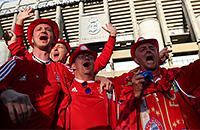 Бавария, болельщики, Лига чемпионов, Реал Мадрид