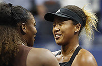 Серена Уильямс, US Open, WTA, Наоми Осака
