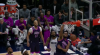 Karl-Anthony Towns with the flush