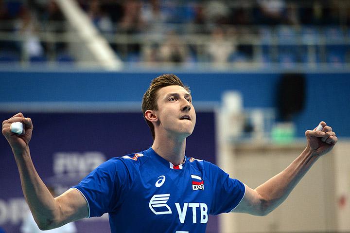 Мировая лига, сборная России, Дмитрий Волков