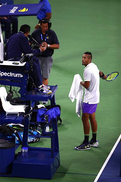 Исследуем этикет тенниса