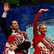 Ванкувер-2010, фото, танцы на льду, сборная России, Максим Шабалин, Оксана Домнина