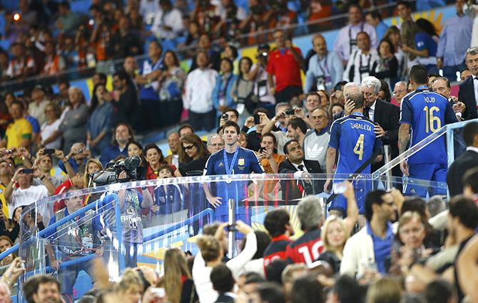 сборная Голландии, Луи ван Гал, сборная Германии, Лионель Месси, сборная Испании, сборная Колумбии, ЧМ-2014