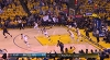JaVale McGee with the rejection vs. the Cavaliers