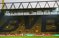 Лига чемпионов, Сигнал Идуна Парк, Боруссия Дортмунд, болельщики, бундеслига Германия