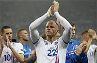 Эйдур Гудьонсен, сборная Эстонии, Сборная Исландии по футболу, Евро-2016, Арнор Гудьонсен