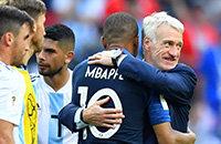 Дидье Дешам, Сборная Франции по футболу, Сборная Аргентины по футболу, ЧМ-2018 FIFA