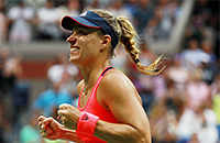 US Open, WTA, Анжелик Кербер, Каролина Плишкова