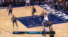 Karl-Anthony Towns sets up the nice finish