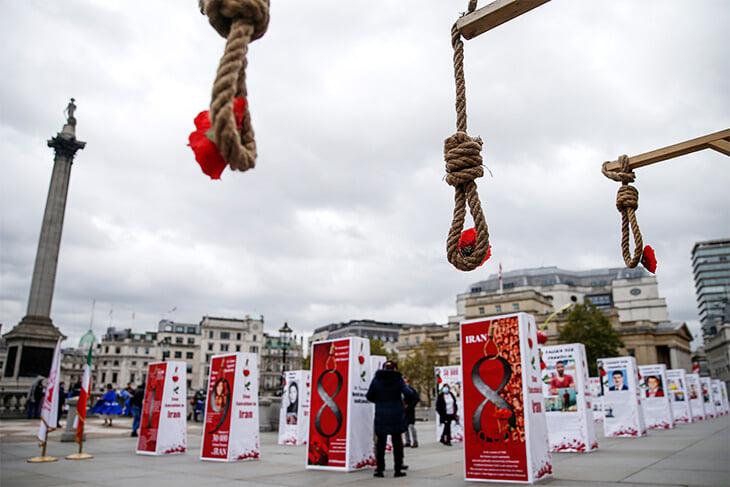 В Иране казнили второго борца за полгода. Его обвиняли в убийстве, а семья погибшего отказала в помиловании